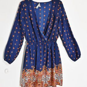 Almost Famous Billow Sleeved Midi Dress